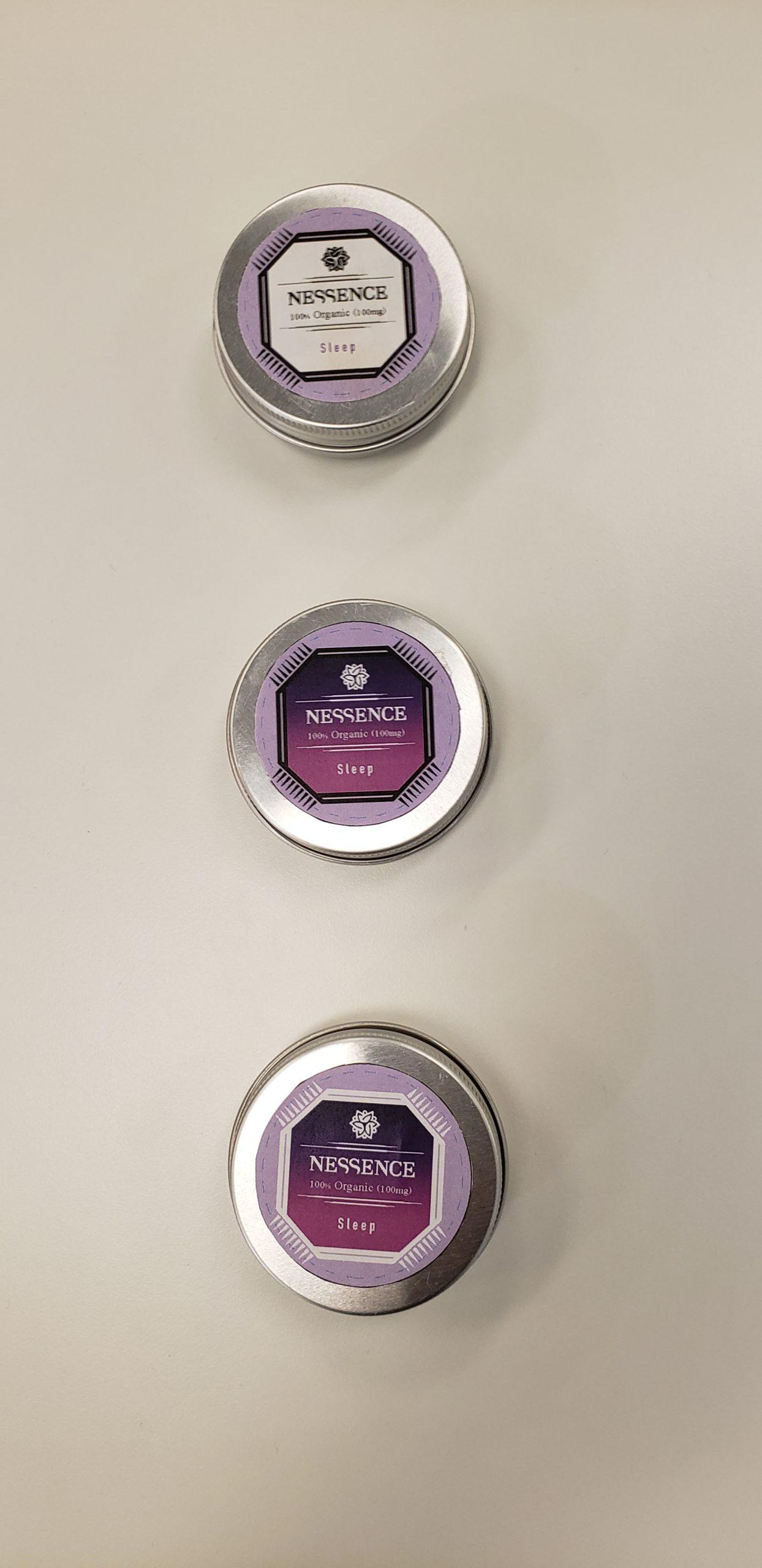 Image of CBD labels